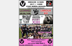 Lionnes XIII vs Limoux XIII